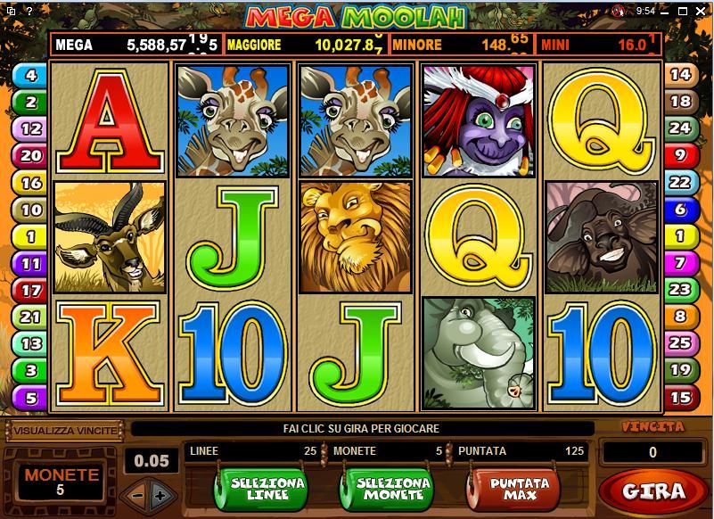 Mega Moolah Slots Download